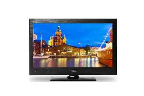 WAM Europe - 19 Inch Finlux HD Ready TV Combi - Save 49%