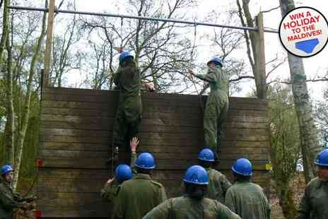 Adrenalin North Yorkshire - Krypton Factor assault course - Save 50%