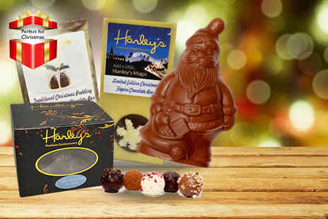 Hanley's Confectionary - Chocolatiers  luxury Christmas package - Save 50%