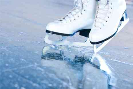 Newry On Ice - Ice Skating With Skate Hire For Two - Save 50%
