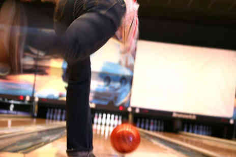 Starbowl - Two Games of Bowling for Two with Drink Each - Save 62%