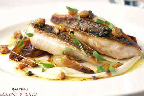 Galvin at Windows - Two Course Michelin-Starred Lunch for One - Save 38%