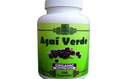 Natural View - Acai Verde  Organic Freeze Dried Acai Berry Capsules - Save 80%
