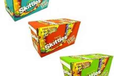 pink_and_blue_gifts1 - 36 x 55g Skittles Bag Sweets Candy Pack Party Box - Save 36%