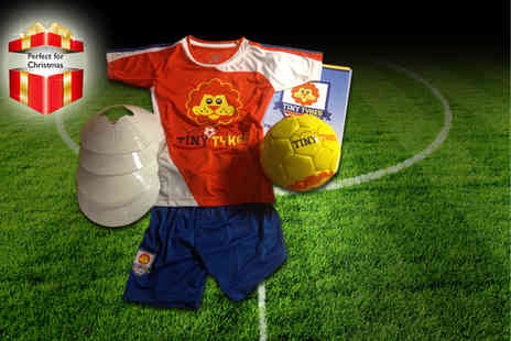 Challenger Sports - Football coaching pack with a childrens football kit - Save 62%