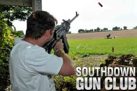 Southdown Activity Centre - Clay Pigeon Shooting for £29 at Southdown Gun Club - Save 68%