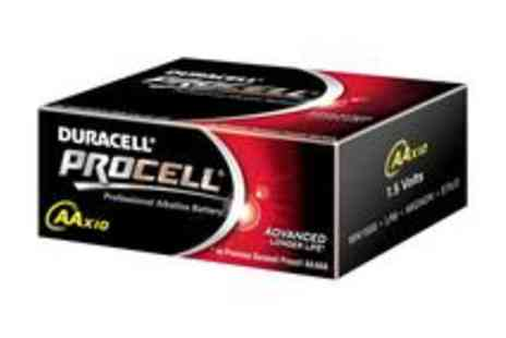 babz - 50 Duracell Procell AA Batteries - Save 42%