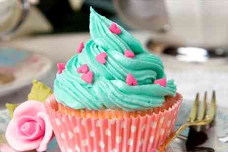 The Cocoa Box - Two Hour Cupcake Decorating Class & six Cakes - Save 53%