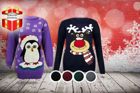 Karma Clothing - Christmas jumper in a choice of 12 designs - Save 50%