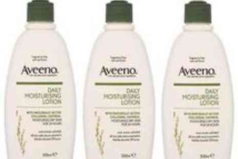 pink_and_blue_gifts1 - 3X 300ml Johnson and Johnson Aveeno Mouisteriser - Save 67%