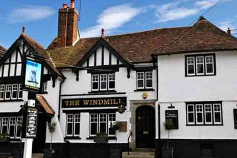 The Windmill Inn - Dinner for two - Save 34%