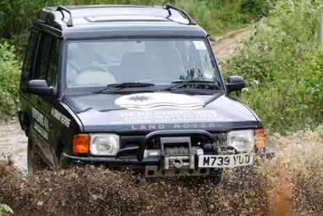 Berkshire 4x4 - Off Road Driving Adventure - Save 67%