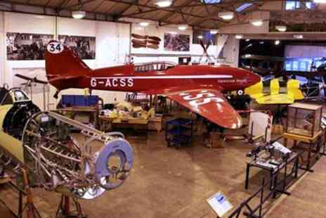 The Shuttleworth Collection - Entry for two to Vintage Aircraft Museum - Save 53%
