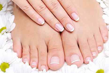 Envy Hair Studio - Manicure or Pedicure - Save 66%