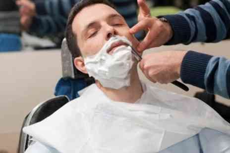 Serendipity Health & Beauty Studio - Wash and cut plus wet shave by professional barber - Save 59%