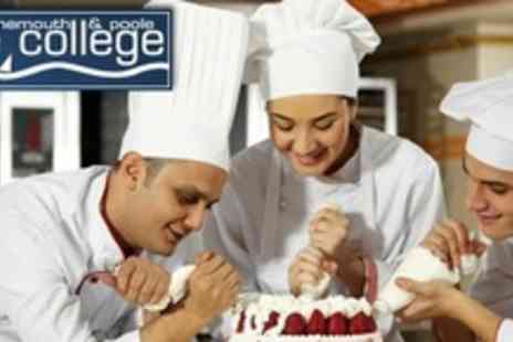 Bournemouth & Poole College - Four Hour Cake Decoration Masterclass - Save 65%