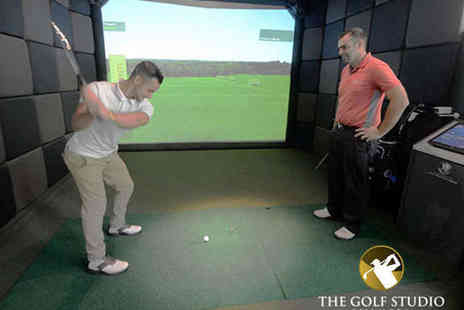 The Golf Studio Swansea - Two Hours in Golf Simulator for One - Save 50%