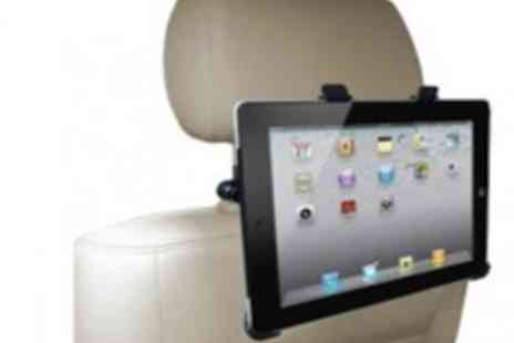 Time2Direct - Apple iPad & Tablet PC Universal Car Head Rest Cradle  Make Boring Car - Save 73%