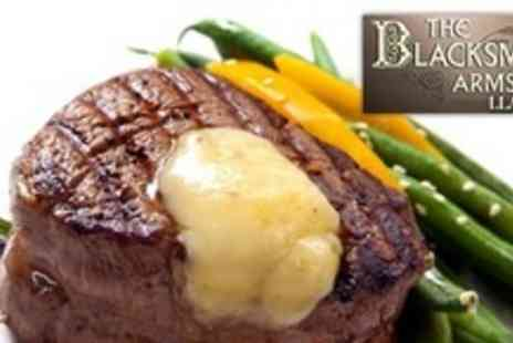 The Blacksmiths Arms - Two Courses of British Fare For Two With Coffee - Save 61%
