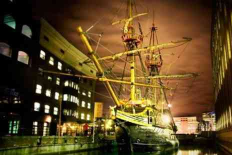 The Golden Hinde - Tour of full scale reconstruction of Sir Francis Drakes ship - Save 50%