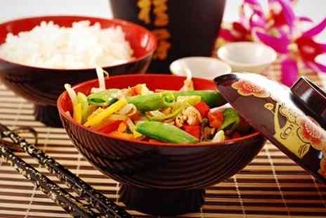 Mings -Restaurant serving Chinese, Japanese and Thai cuisine - Save 53%