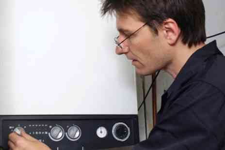 OBrien Plumbing and Heating - Full Boiler Service and Clean With CP12 Certification - Save 60%
