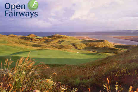 Open Fairways - 12 Month Golfing Privilege Card with Access to 1600 Courses - Save 72%