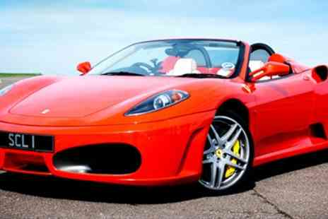 Supercars Lifestyle - Supercar Experience inc 9 Laps in 3 Cars - Save 67%