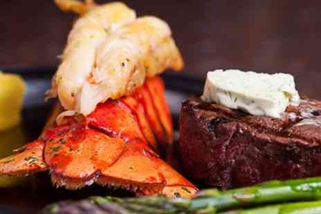 The Whitehorse Inn - Steak & Lobster Dinner for 2 with Prosecco - Save 50%