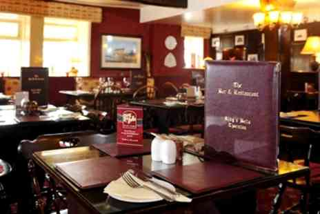 Ring O'Bells - Country Inn Chateaubriand Dinner & Bubbly for 2 - Save 50%