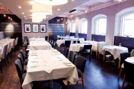 Heathcotes Brasserie -  5 Courses menu for two with a glass of prosecco  - Save 48%