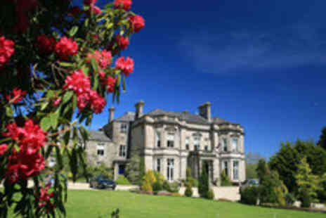 Tre ysgawen Hall - One night stay for two at Country House Spa Hotel - Save 51%