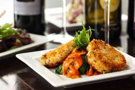 Prosecco - 3 Course Dinner for 2 with Prosecco - Save 50%