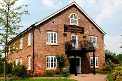 The Wharf House - Award Winning Dinner for 2 in Gloucester - Save 52%