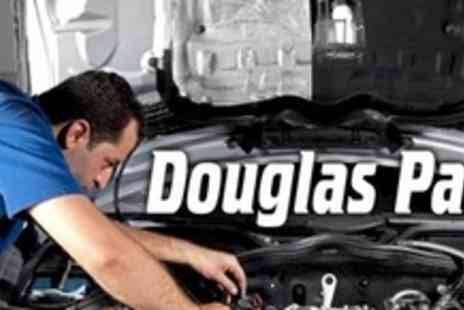 Douglas Paul Motor Group - Full 66 Point Car Service With Oil and Filter Change Plus Car Wash - Save 73%