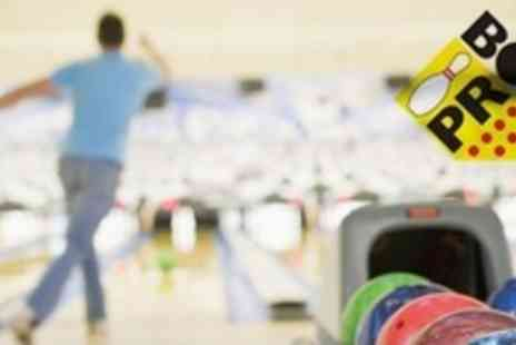Probowl - Hour Long Bowling Session For Up to Six With Hot Dogs - Save 62%