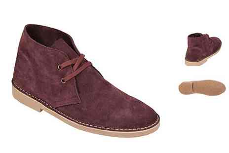Getthelabel - Mens Lace Up Desert Boot - Save 40%