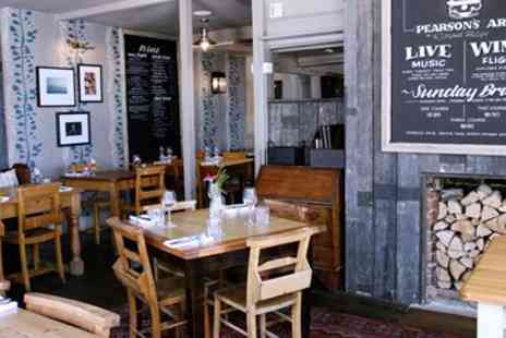 Pearsons Arms - Three Course Meal for two - Save 34%