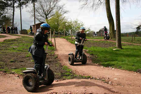Madrenaline Activities - One hour Segway obstacle experience for one - Save 67%