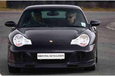 Driving Sensation -  Supercar driving experience at a choice of 3 locations - Save 51%