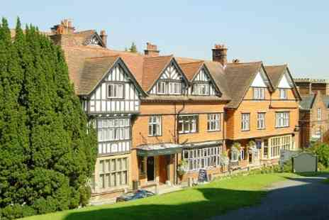The Crown Manor House Hotel - One Night For Two With Dinner, Prosecco and Breakfast  - Save 40%
