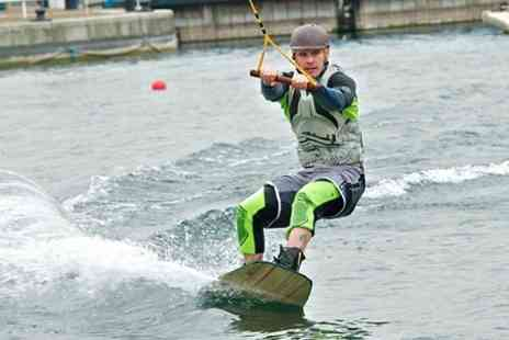 Salford Watersports Centre - Wakeboarding Lesson - Save 50%