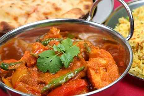 Prince of India - Two Course Indian Meal For Two - Save 56%