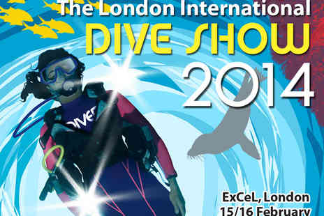 The London International Dive Show - Two Tickets to Visit attractions such as the Try Dive Pool, Rebreather Pool or PhotoZone  - Save 53%