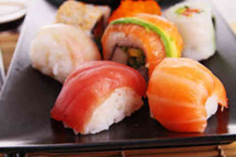 Sushi Cafe - Extravagant Japanese Sushi Feast for Two People - Save 53%