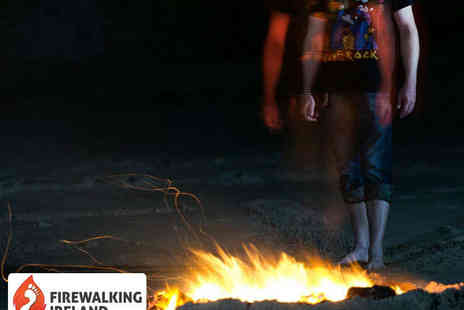 Firewalking Ireland - Four Hour New Years Eve Firewalking Experience with Meal - Save 50%