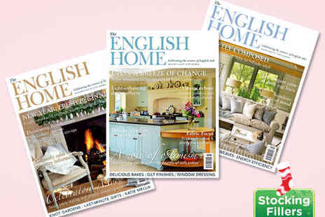 The English Home Magazine - 12 Month Subscription to The English Home Magazine - Save 60%