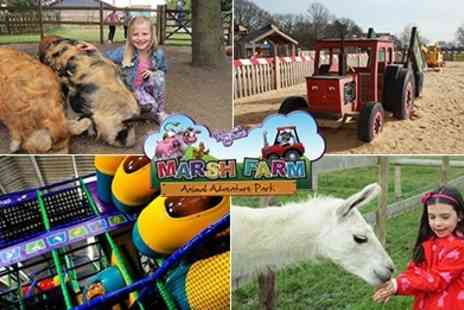 Partyman World of Play - Visits to Marsh Farm, Oodles of Indoor & Outdoor Fun for All the Family - Save 50%