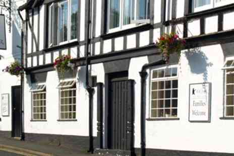The Bear at Hodnet - Dinner & Bubbly for 2 at Shropshire Inn - Save 51%