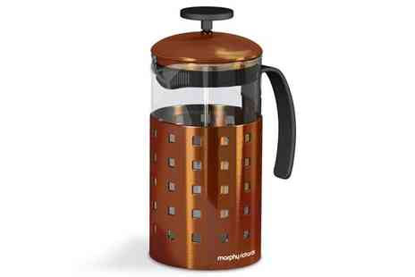 Bentley and Karvel - Morphy Richards 8 Cup Cafetiere - Save 38%